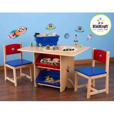 KidKraft Star Kids' 5 Piece Table and Chair Set