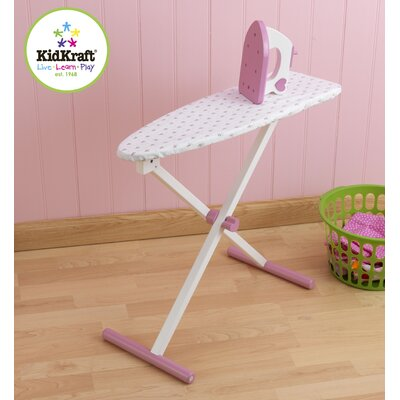 KidKraft Tiffany Bow Doll Ironing Board Set
