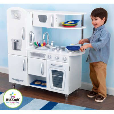 KidKraft Personalized White Vintage Kitchen