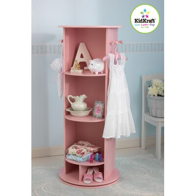 KidKraft Swivel Vanity in Pink