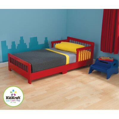 KidKraft Slatted Toddler Bed