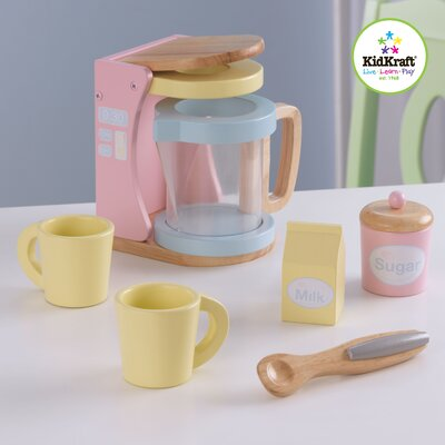 KidKraft Pastel Coffee Set