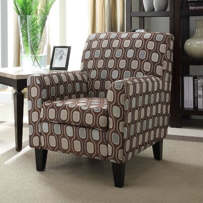 Armen Living Fiesta Circles Chair