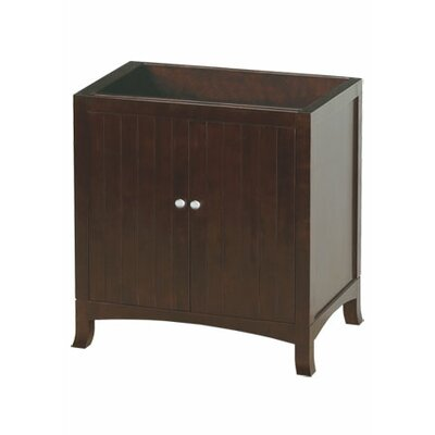 "Ronbow Neo Classic Hampton 30"" Bathroom Vanity Cabinet in Vintage Walnut"
