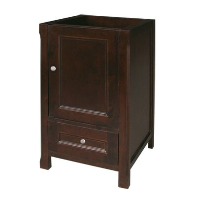 "Ronbow Neo Classic Juliet 18"" Bathroom Vanity in Vintage Walnut"