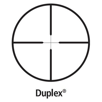Leupold FX-3 6x42mm Duplex Riflescope in Gloss Black