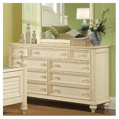 Wynwood Furniture Hadley Pointe 9 Drawer Dresser
