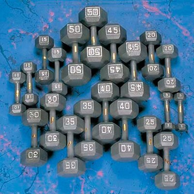 Yukon Fitness Hex Dumbbell Set