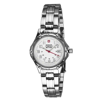 Wenger Swiss Gear Ladies Swiss Military Stainless Steel Bracelet Watch