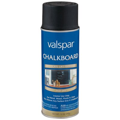 Valspar Chalkboard Black Spray Paint