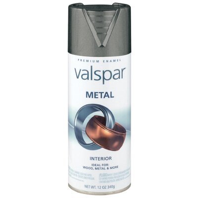 Valspar Pewter Metal Spray Paint