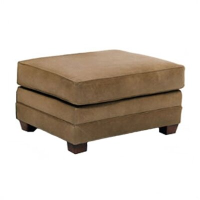 Distinction Leather Sumner Leather Ottoman