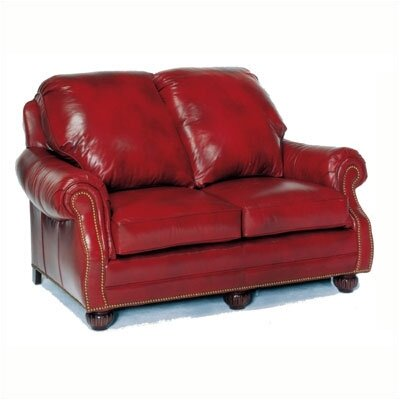 Palmer Leather Loveseat