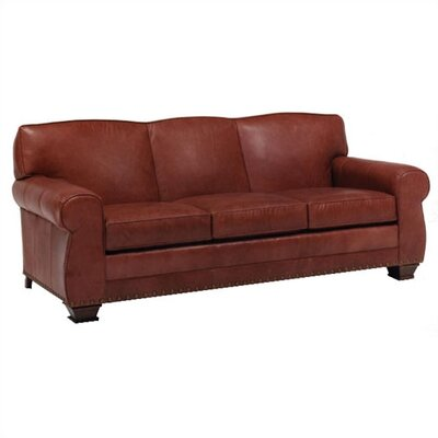 Hampton Leather Convertible Sofa