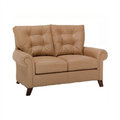 Alexis Leather Loveseat