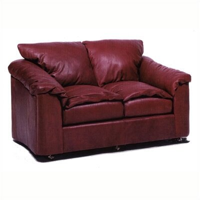Denver Leather Loveseat