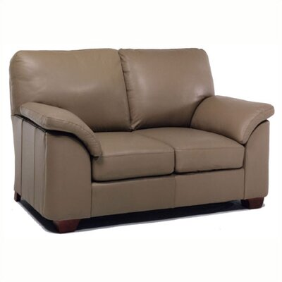 Distinction Leather Regis Leather Loveseat