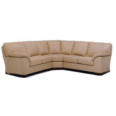 Regis Leather Sectional