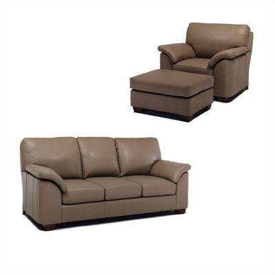 Distinction Leather Regis Leather Sleeper Sofa and Chair Set