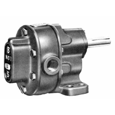 BSM Pump B-Series Pedestal Mount Gear Pumps - #3 rotary gear pump flgmtg w/wrv