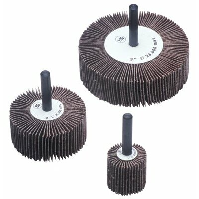 CGW Abrasives Flap Wheels - 3x1x1/4 alum oxide 60 grit flap wheel