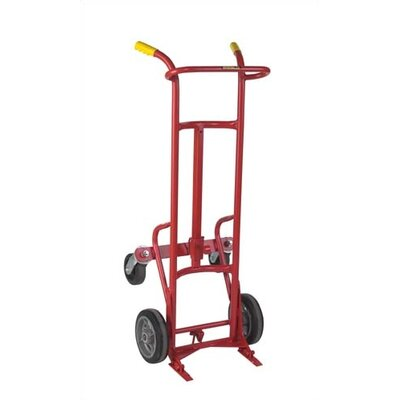 Wesco Manufacturing 15BTC 4-Wheel Ergonomic Drum Truck