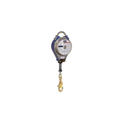 "DBI/Sala Sealed Self Retracting Lifeline With 3/16"" Galvanized Steel Wire Rope"