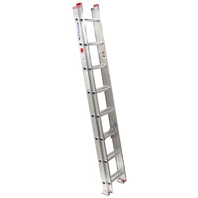Werner 16' Aluminum Extension Ladder D1116-2