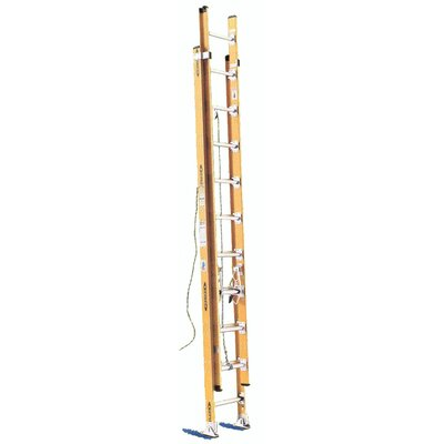 Werner 24' Aluminum Extension Ladder D1124-2