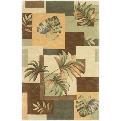 KAS Oriental Rugs Sparta Earthtone Foliage Views Rug