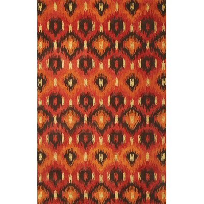 Tapestry Rust Allover Mosaic Rug