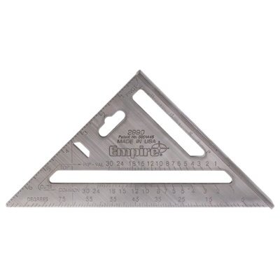 Empire Level Rafter Squares - 02990-3 heavy duty rafter square