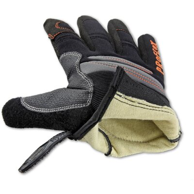 Ergodyne ProFlex 710CR Cut Resistant Trades Gloves in Black