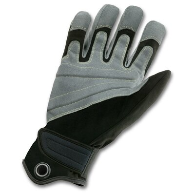 Ergodyne ProFlex 740 Fire and Rescue Rope Gloves in Black