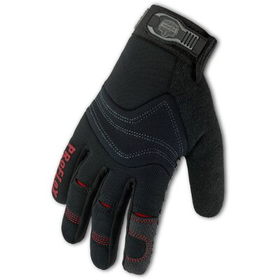 Ergodyne ProFlex 821 Silicone Handler Gloves in Black