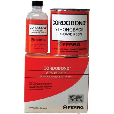 Ferro CORDOBOND® Strong Back Resin and Activator - cordobond strongback  resin & act