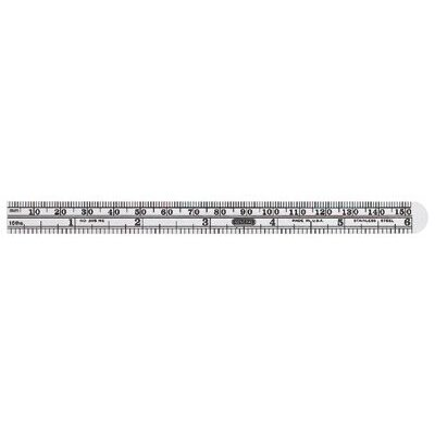 General Tools Economy Precision Stainless Steel Rules - 32049 6&quot; flex stainlesssteel rule