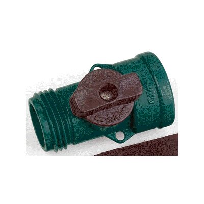 Gilmour Hose End Nylon Water Shut-Off Valve