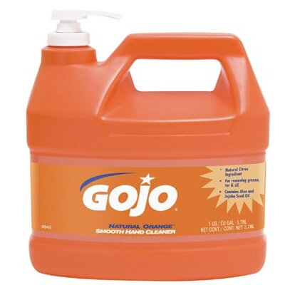 Gojo Lotion Hand Cleaners - 1-gal natural orange hand cleaner smooth