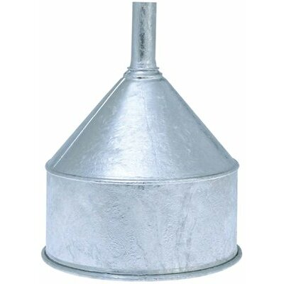 Goldenrod Galvanized Funnels - 8-quart funnel hot dipped galvanize w    57102