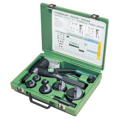 Greenlee Quick Draw® Hydraulic Punch Kits