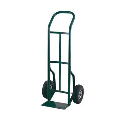 "Harper Trucks 52T Series Continuous Handle Steel Hand Truck With 10"" Pneumatic 2-Ply Tubeless Tires"