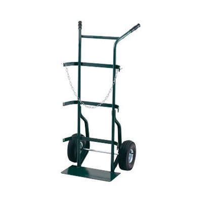 "Harper Trucks 700 Series Cylinder Hand Truck For Medium To Large Cylinders With 10"" Pneumatic 2-Ply Tires"