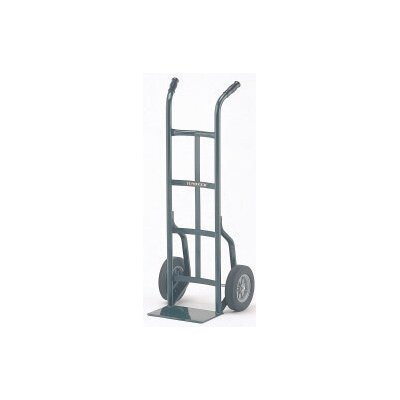 "Harper Trucks 20T Series Dual Handle Steel Hand Truck With 10"" Solid Rubber Wheels"
