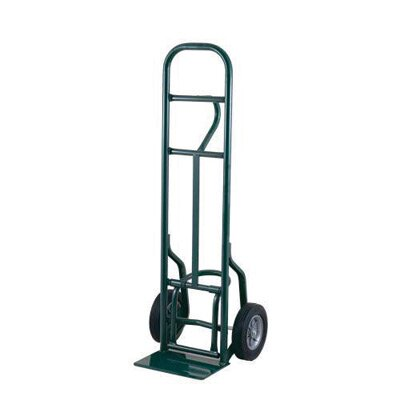 "Harper Trucks 58T Series Loop Handle Hand Truck With Eze-Off And 10"" Solid Rubber Wheels"