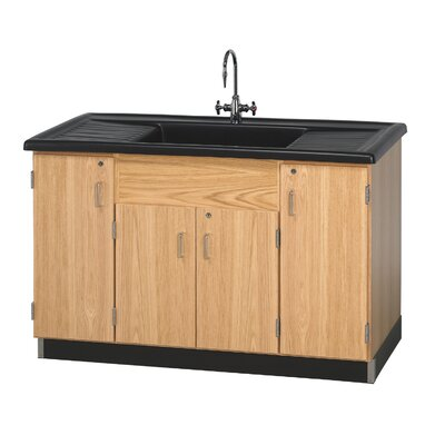 Diversified Woodcrafts Clean Up Sink With Cabinets