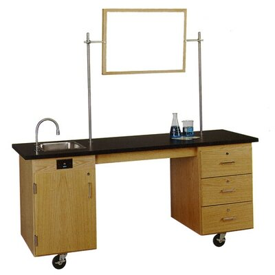 Diversified Woodcrafts ADA Compatible Mobile Lab Station