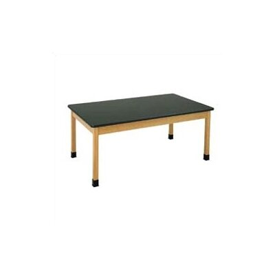 Diversified Woodcrafts Plain Apron Science Table (Without Table Top)