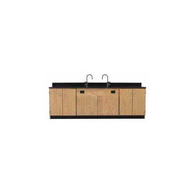 Diversified Woodcrafts Wall Service Bench