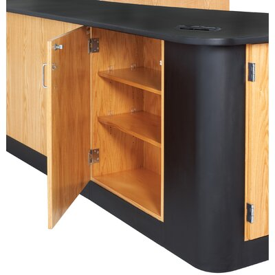 Diversified Woodcrafts Sink-In Peninsula Workstation